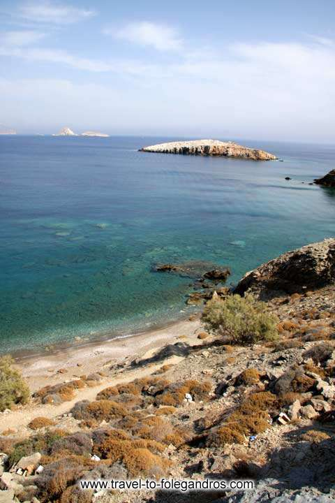 FOLEGANDROS PHOTO GALLERY - Vintsentzou Beach by Ioannis Matrozos