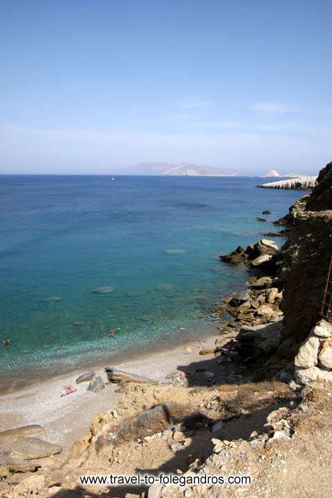 FOLEGANDROS PHOTO GALLERY - Pountaki Beach by Ioannis Matrozos