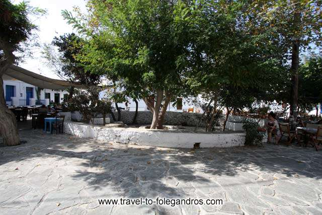 FOLEGANDROS PHOTO GALLERY - Ntounavi square by Ioannis Matrozos