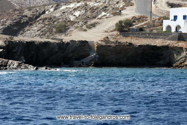 FOLEGANDROS PHOTO GALLERY - Latinaki beach by Ioannis Matrozos