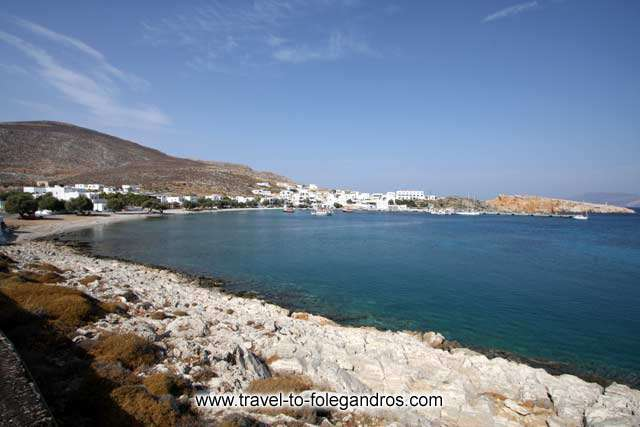 View of Kohlidia and Karavostasis FOLEGANDROS PHOTO GALLERY - Karavostastis Bay by Ioannis Matrozos