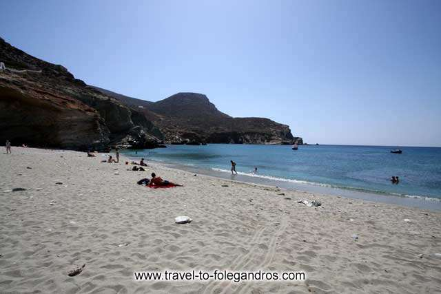 The peaceful Agali beach FOLEGANDROS PHOTO GALLERY - Agali beach by Ioannis Matrozos