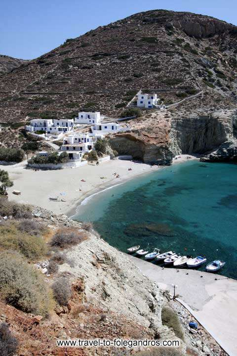 View of Agali bech FOLEGANDROS PHOTO GALLERY - Agali by Ioannis Matrozos