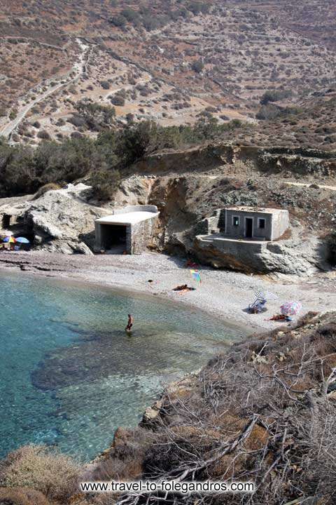 Swimming at Agios Georgios beach FOLEGANDROS PHOTO GALLERY - Agios Georgios by Ioannis Matrozos