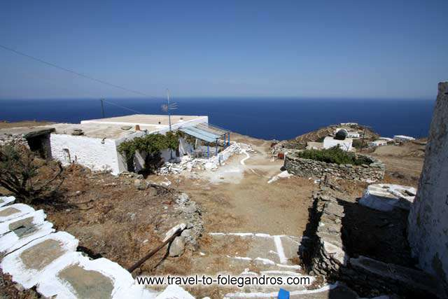Themonia (small farmhouse) in Ano Meria FOLEGANDROS PHOTO GALLERY - Themonia