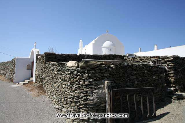 Agios Antreas church in Ano Meria FOLEGANDROS PHOTO GALLERY - Agios Antreas by Ioannis Matrozos