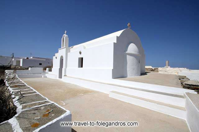 Agios Antreas (St Andrew) chapel FOLEGANDROS PHOTO GALLERY - Agios Antreas by Ioannis Matrozos