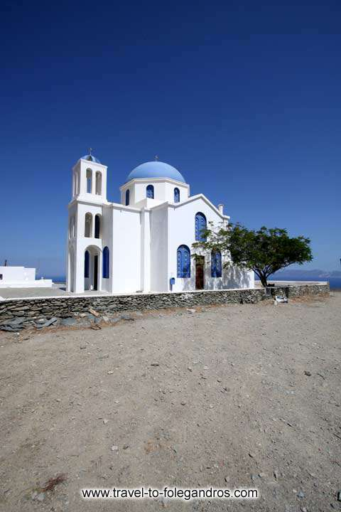 Church in Ano Meria FOLEGANDROS PHOTO GALLERY - Church by Ioannis Matrozos