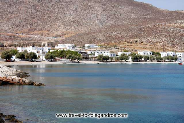 View of Chochlidia from the north FOLEGANDROS PHOTO GALLERY - Karavostassis by Ioannis Matrozos