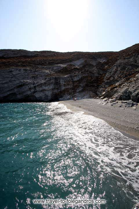 FOLEGANDROS PHOTO GALLERY - Katergo beach by Ioannis Matrozos