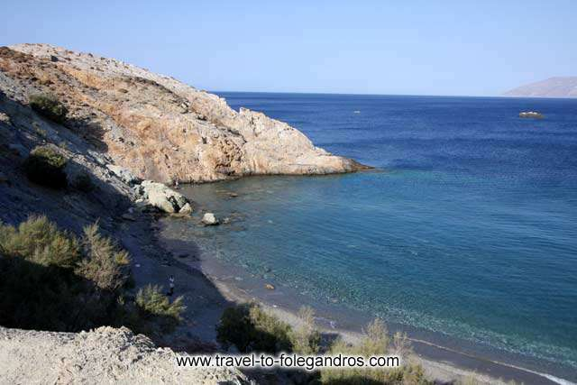 FOLEGANDROS PHOTO GALLERY - Vardia Beach by Ioannis Matrozos