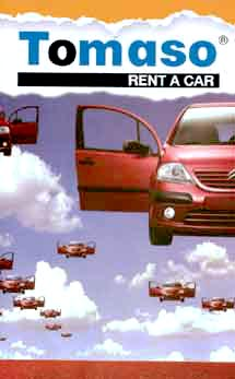 TOMASO RENT A CAR  RENT A CAR IN  Chora